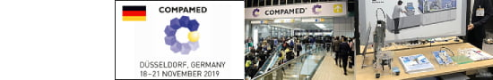 COMPAMED 2019 展示会に出展